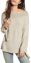 Hinge Women's Off The Shoulder Sweater