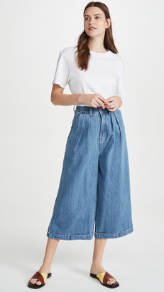 L.F. Markey Pleat Front Jeans