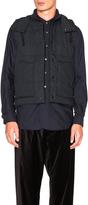 Engineered Garments Nyco Ripstop Primaloft Vest