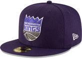 New Era Sacramento Kings Solid Team 59FIFTY Cap