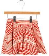 Mini Rodini Girls' Striped A-Line Skirt