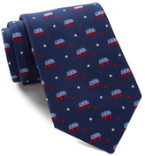 Alara Silk Lincoln Elephant Tie