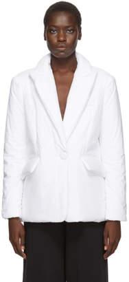 MM6 MAISON MARGIELA White Padded Blazer