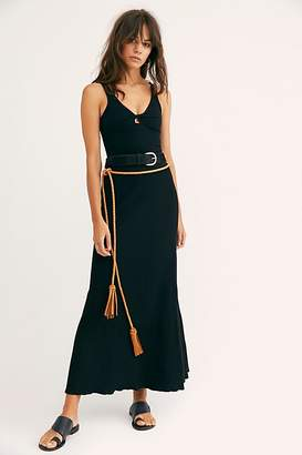 Free People Shine Bright Solid Skirt