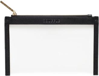 Truffle Clarity Clutch Bag, Mini