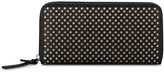 Nine West Treasures Zip Around Perforated Wallet