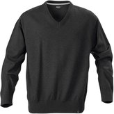 Harvest Lowell Mens V Neck Knitted Sweater Jumper Pullover - XL