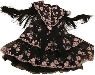 Giamba Black Silk Dress for Women