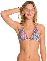 Betsey Johnson Cherry Pop Triangle Bikini Top 8126758