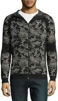 Puma Men's Evoknit Camouflage Hooded Sweater
