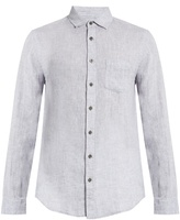 Onia Abe long-sleeved linen shirt