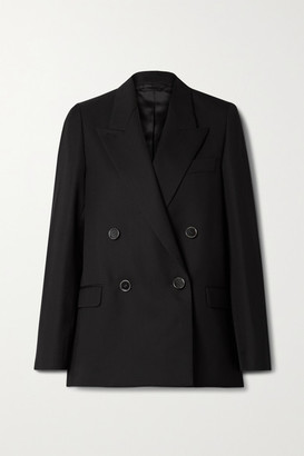 Acne Studios Double-breasted Woven Blazer - Black
