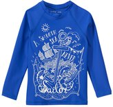Tiger Joe Boys' Rogue Sailor UPF 50+ Long Sleeve Rashguard (28) - 8148106