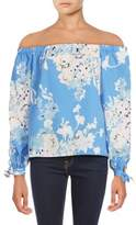 Yumi Kim Printed Off-The-Shoulder Top