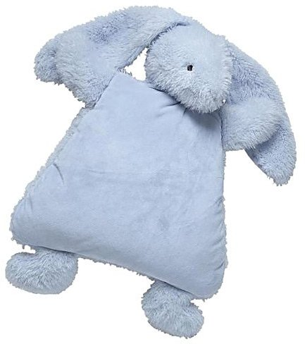 North American Bear Company Smushy Bunny Cushie, Blue
