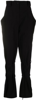 Kenzo Drawstring Tied Leg Trousers