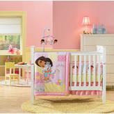 Nickelodeon Interior Consumer Products Dora the Explorer 4 Piece Crib Bedding Set