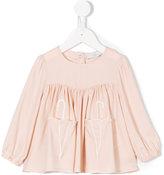 Stella McCartney long sleeve blouse - kids - Viscose - 9 mth
