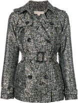 MICHAEL Michael Kors floral printed trench jacket