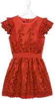 Little Remix embroidered dress - kids - Silk/Cotton/Polyester/Spandex/Elastane - 16 yrs