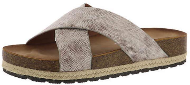 b8158f31d Beige Slide Sandals For Women - ShopStyle UK