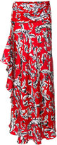J.W.Anderson printed maxi skirt