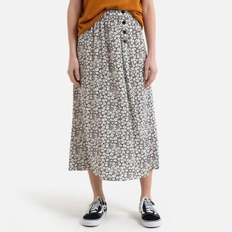 Des Petits Hauts Tosita Long Printed Skirt