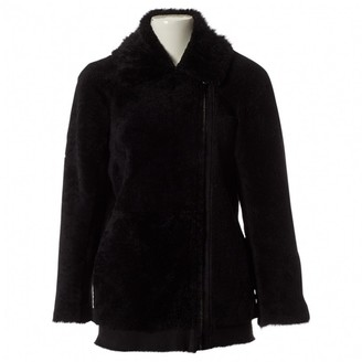 Designers Remix Black Shearling Jackets