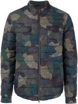 Etro camouflage puffer jacket
