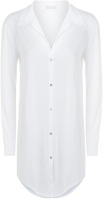 Hanro Cotton Deluxe Boyfriend Nightshirt