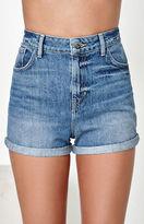 GUESS x PacSun Denim Mom Shorts