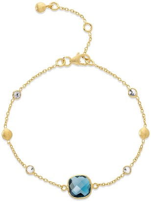 Auree Jewellery Iseo London Topaz & Gold Vermeil Bracelet