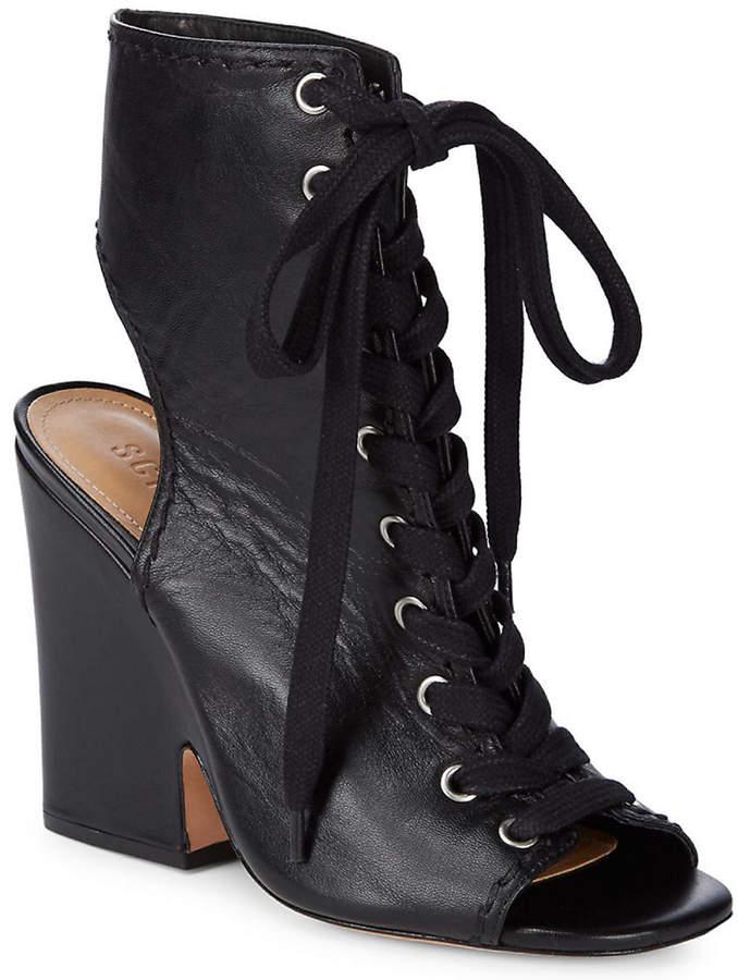 b081c32c0af2 Schutz Leather Upper Women's Boots - ShopStyle