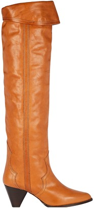 Isabel Marant Remko Knee-High Leather Boots