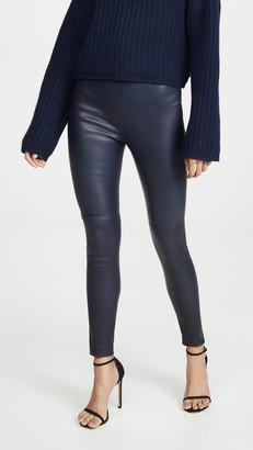 SABLYN High Waisted Leather Pants