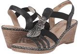 Rieker D6747 Ursula 47 Women's Wedge Shoes