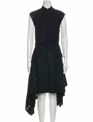 Maison Margiela Wool Midi Length Dress w/ Tags Wool
