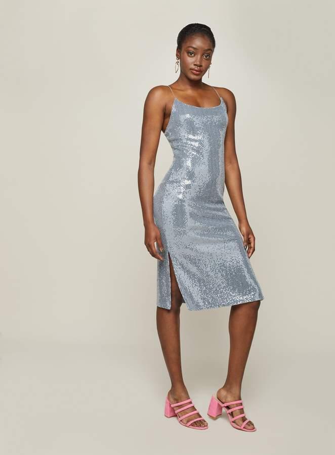 f6e9f17a94ef Silver Slip Dress - ShopStyle UK