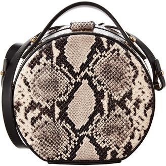 Nico Giani Tunilla Python-Embossed Leather Shoulder Bag