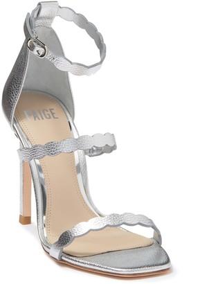 Paige Vita Leather Stiletto Heel Sandal