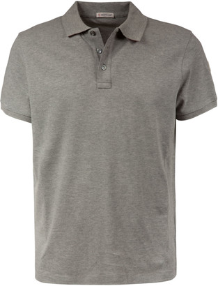 Moncler Logo Patched Polo Shirt