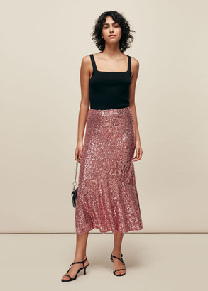 Suki Sequin Skirt