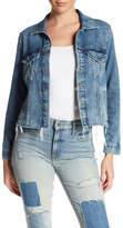 Lucky Brand Cut Hem Denim Jacket