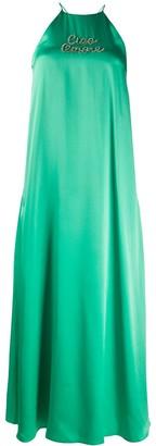 Giada Benincasa Crystal Embellished Dress