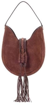 Altuzarra Ghianda Knot hobo suede shoulder bag