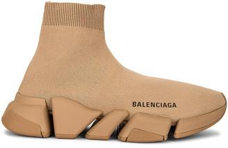 Balenciaga Speed Light 2 Sneakers in Beige | FWRD