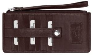 Mancini Casablanca Collection Rfid Secure Ladies Wristlet/Wallet