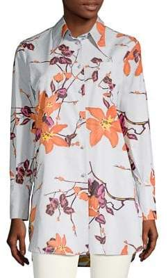 Etro Floral-Print Tunic