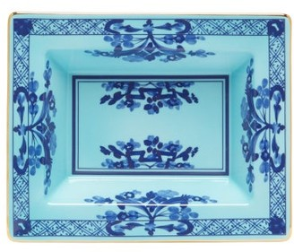 Richard Ginori Oriente Italiano Porcelain Coin Tray - Blue Multi