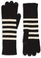 Marc Jacobs Striped Gloves